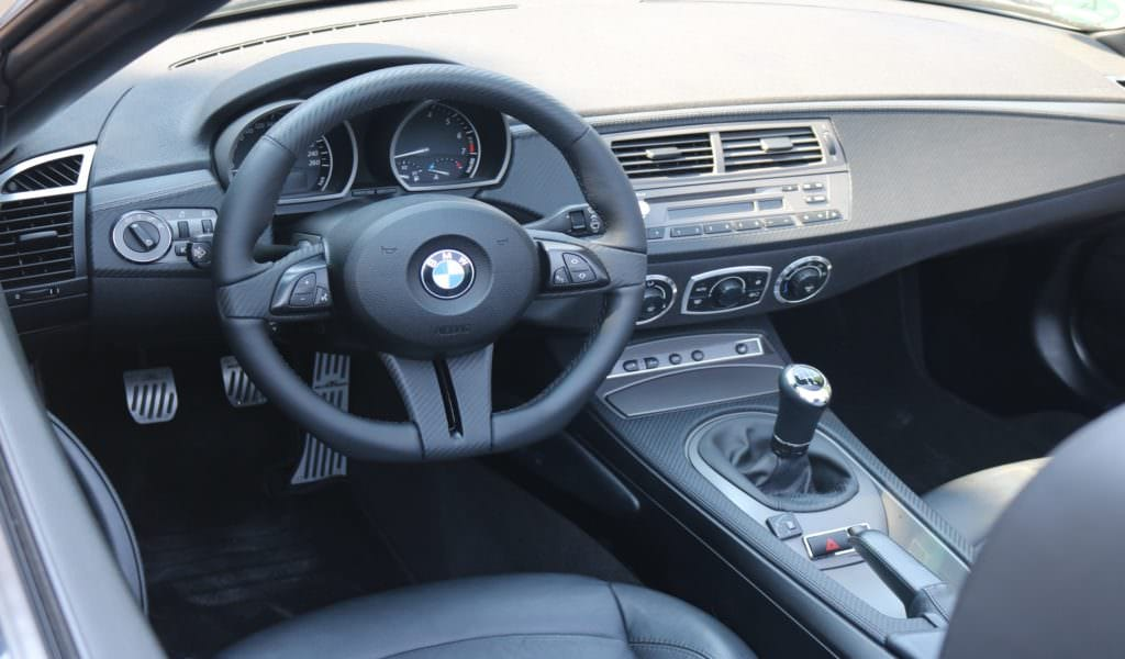 BMW E85 carbon leather interior